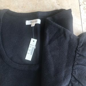 NWT MADEWELL CREWNECK S With bell sleeve